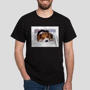 Pocket Beagle painting T-Shirt
