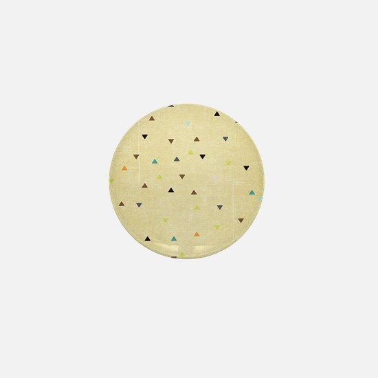 Beach Bum Texture Pattern Mini Button