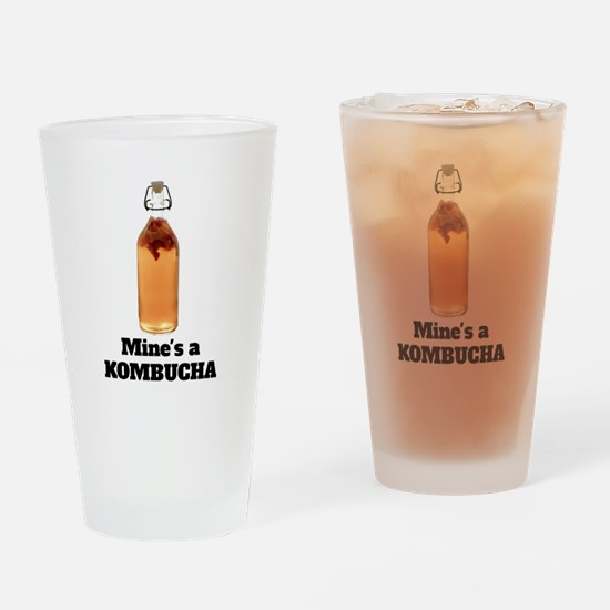 Mine's a KOMBUCHA Drinking Glass