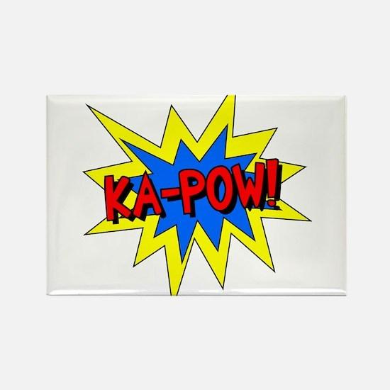 Ka-Pow! Rectangle Magnet