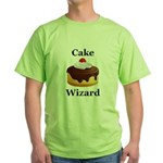Cake Wizard Green T-Shirt