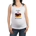 Cake Wizard Maternity Tank Top
