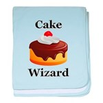 Cake Wizard baby blanket