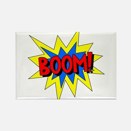 Boom! Rectangle Magnet