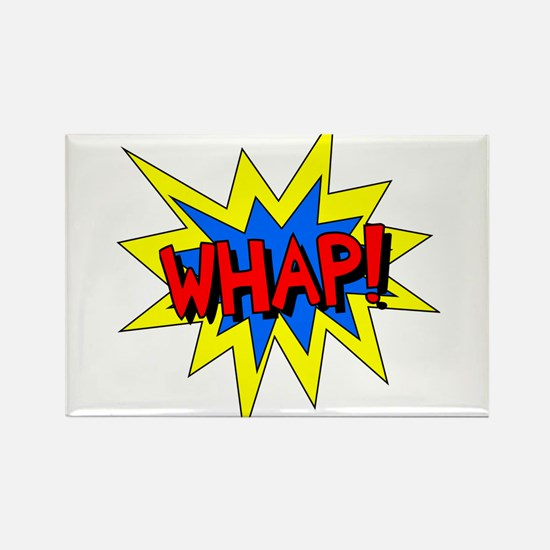 Whap! Rectangle Magnet