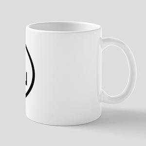 DHL Oval Mug