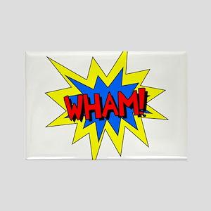 Wham! Rectangle Magnet