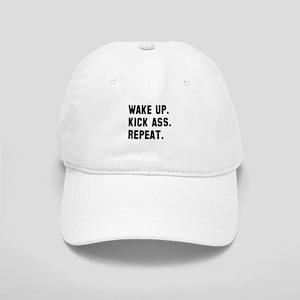 Wake up kick ass repeat Cap