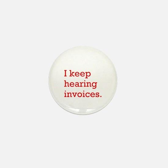 Hearing Invoices Mini Button