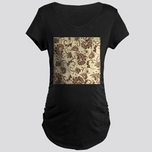 Country Chic Western Pattern Maternity T-Shirt