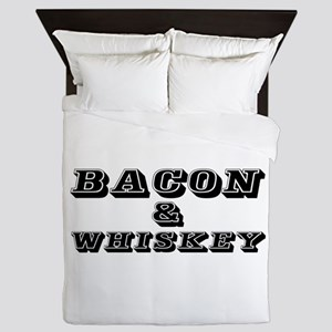 Bacon & Whiskey Queen Duvet
