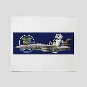 catCupvf32a Throw Blanket