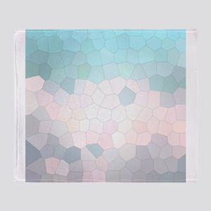 Crystalized Mosaic Pattern Throw Blanket
