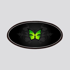 Elegant Green Butterfly Patches