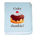 Cake Junkie baby blanket