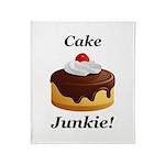 Cake Junkie Throw Blanket