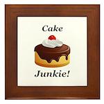 Cake Junkie Framed Tile