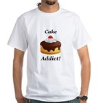 Cake Addict White T-Shirt