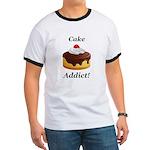 Cake Addict Ringer T