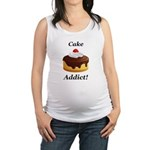 Cake Addict Maternity Tank Top