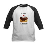 Cake Addict Kids Baseball Jersey