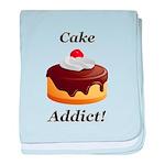 Cake Addict baby blanket