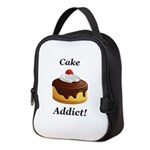 Cake Addict Neoprene Lunch Bag