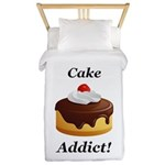 Cake Addict Twin Duvet