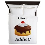 Cake Addict Queen Duvet