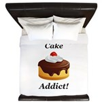 Cake Addict King Duvet