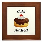 Cake Addict Framed Tile