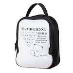 bowling_bootan_egao_1500x Neoprene Lunch Bag