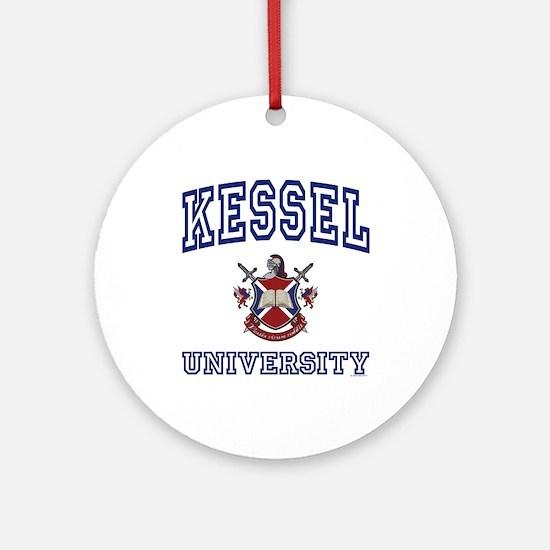KESSEL University Ornament (Round)
