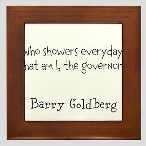 Hygenic Governor Framed Tile
