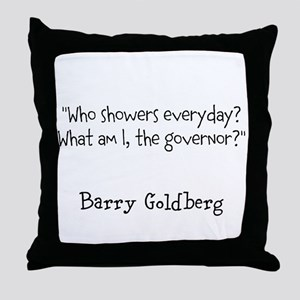 Hygenic Governor Throw Pillow