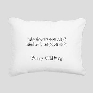 Hygenic Governor Rectangular Canvas Pillow