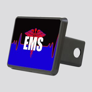 Ems Heartbeat Rectangular Hitch Cover