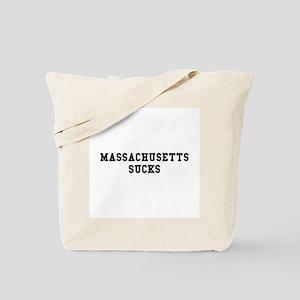 Massachusetts Sucks Tote Bag