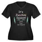 Zucchini Season Plus Size T-Shirt
