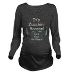 Zucchini Season Long Sleeve Maternity T-Shirt