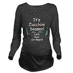 Zucchini Season Long Sleeve Maternity T-Shirt