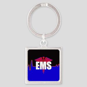 EMS Heartbeat Keychains