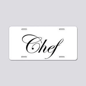 chef3 Aluminum License Plate