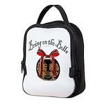 Bring On The Bells Neoprene Lunch Bag
