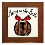 Bring On The Bells Framed Tile