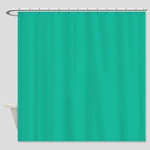 Aqua Green Shower Curtain