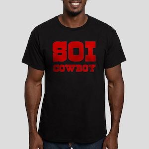 SOI COWBOY Men's Fitted T-Shirt (dark)