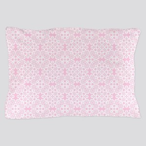 Carnation & White Lace 2 Pillow Case