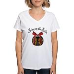 Bring On The Bells Women's V-Neck T-Shirt