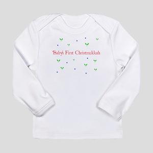 babychirstmukkah Long Sleeve T-Shirt